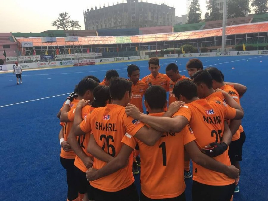 Malaysia will be hunting for their first Asia Cup final appearance in 10 Editions. Pix from Malaysian Hockey Confederation Facebook Page