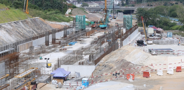 Image result for mrt2 construction progress
