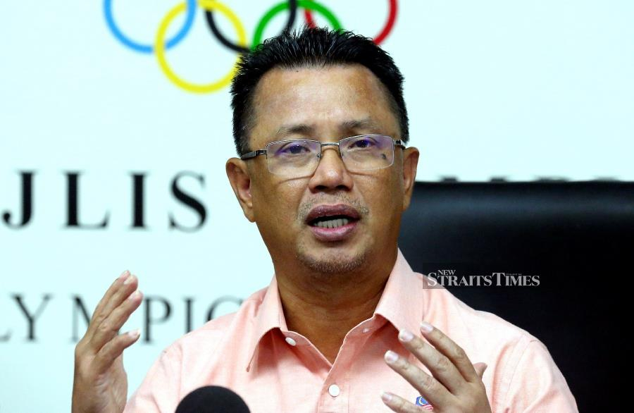 Datuk Seri Mohamad Norza Zakaria said the OCM have not received anything in black and white from the International Olympic Committee (IOC) on the matter. NSTP/OWEE AH CHUN.