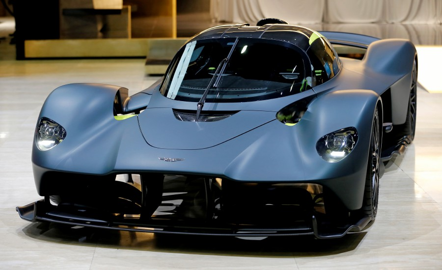 Aston Martin said on Wednesday it was putting on hold a planned entry into the World Endurance Championship (WEC) and Le Mans 24 Hours with its Valkyrie hypercar. -- Reuters photo