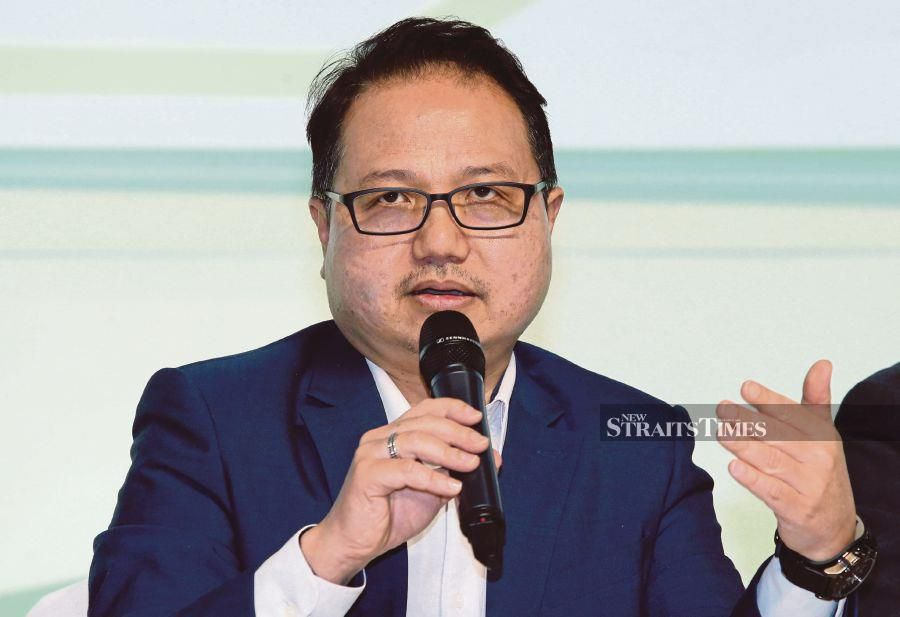 Malaysia Automotive, Robotics and IoT Institute chief executive officer Datuk Madani Sahari says the target would be spearheaded by Proton Holdings Bhd and Perusahaan Otomobil Kedua Sendirian Bhd. NST pix by Ahmad Irham Mohd Noor