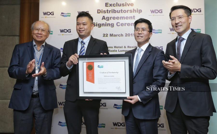 Doosan extends nationwide heavy machinery distributorship to