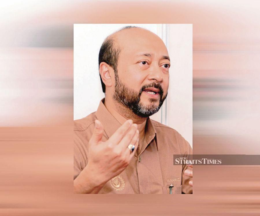 Menteri Besar Datuk Seri Mukhriz Mahathir said the situation was a cause for concern as it puts the people, especially rice farmers, at risk. -NSTP/File pic