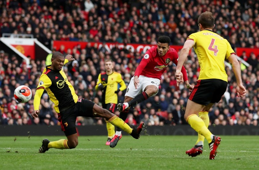 Man United Outclass Watford To Stay In Top Four Hunt