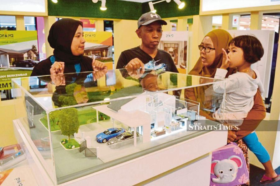 MyRumah - a one-stop platform for property consultation and home purchase - was previously held in Kuala Lumpur, Melaka and Johor. - STR/ASROL AWANG