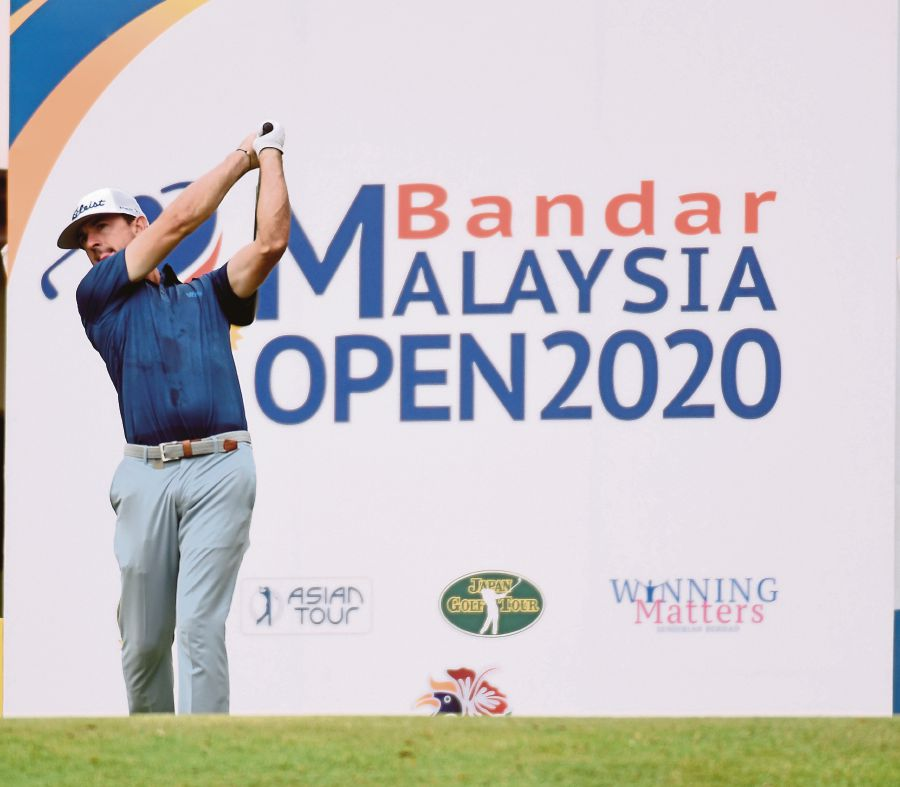 The Malaysia Open has been reduced to a 54-hole event following another weather delay at the Kota Permai Golf and Country Club yesterday. - BERNAMA pic