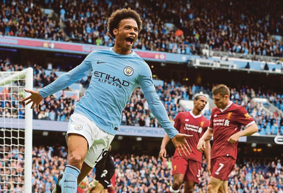 Gabriel Jesus, Sane score twice as City routs Liverpool 5-0