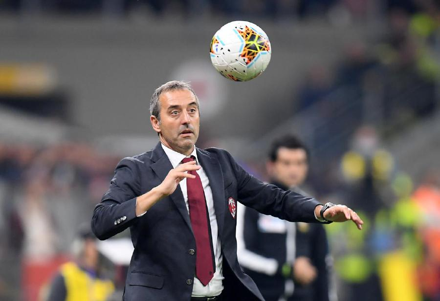 Marco Giampaolo is rumoured to lose his job following a run of poor results for AC Milan. -Reuters