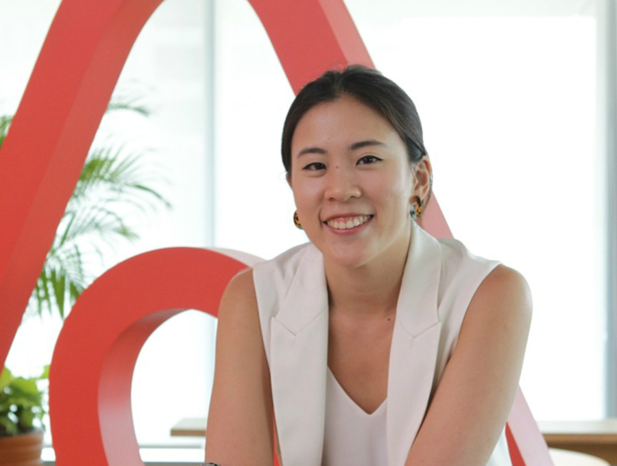 Airbnb Southeast Asia's head of public policy, Mich Goh.