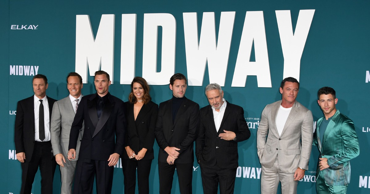 'Midway' goes all the way to top of box office