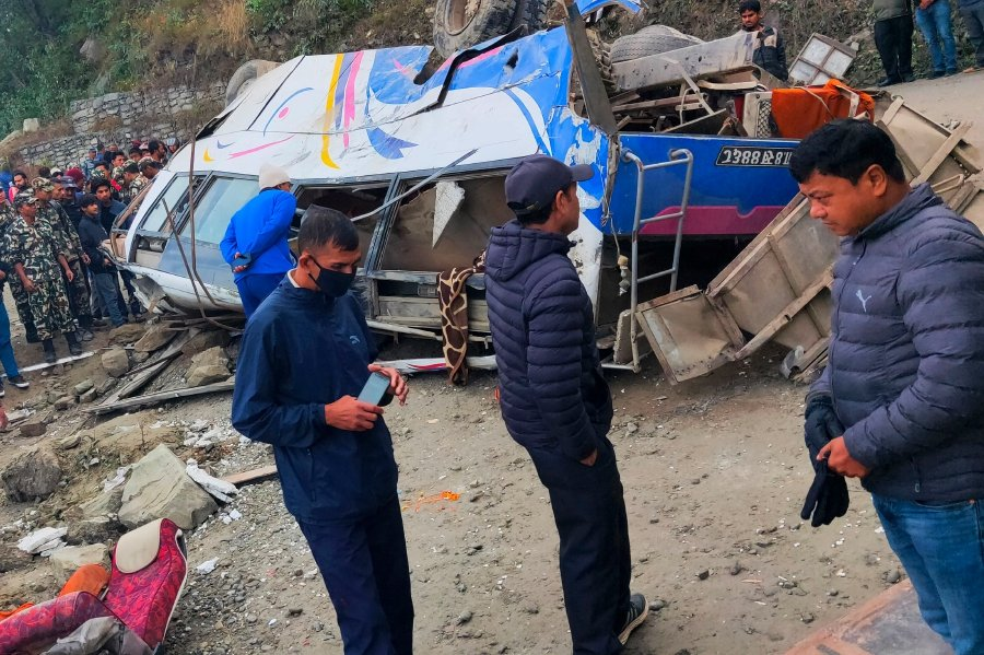 14 dead in Nepal road accident