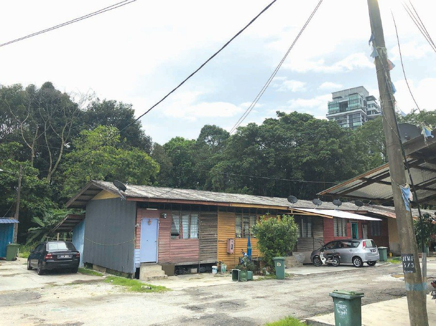 Houses overlooking the longhouses will have better view following the planned redevelopment.