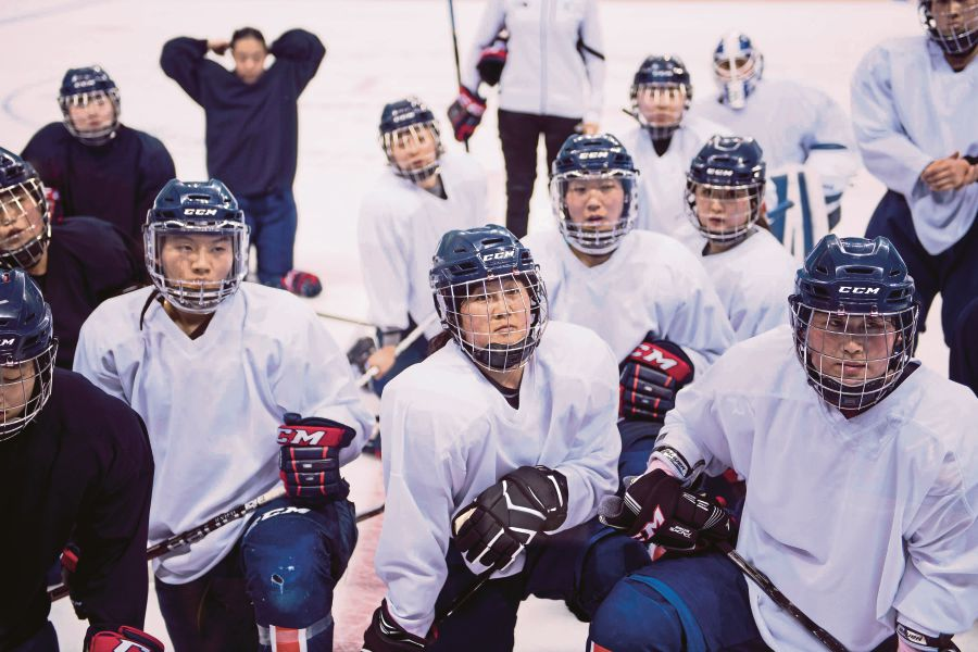 Korean hockey team faces Switzerland in historic debut match