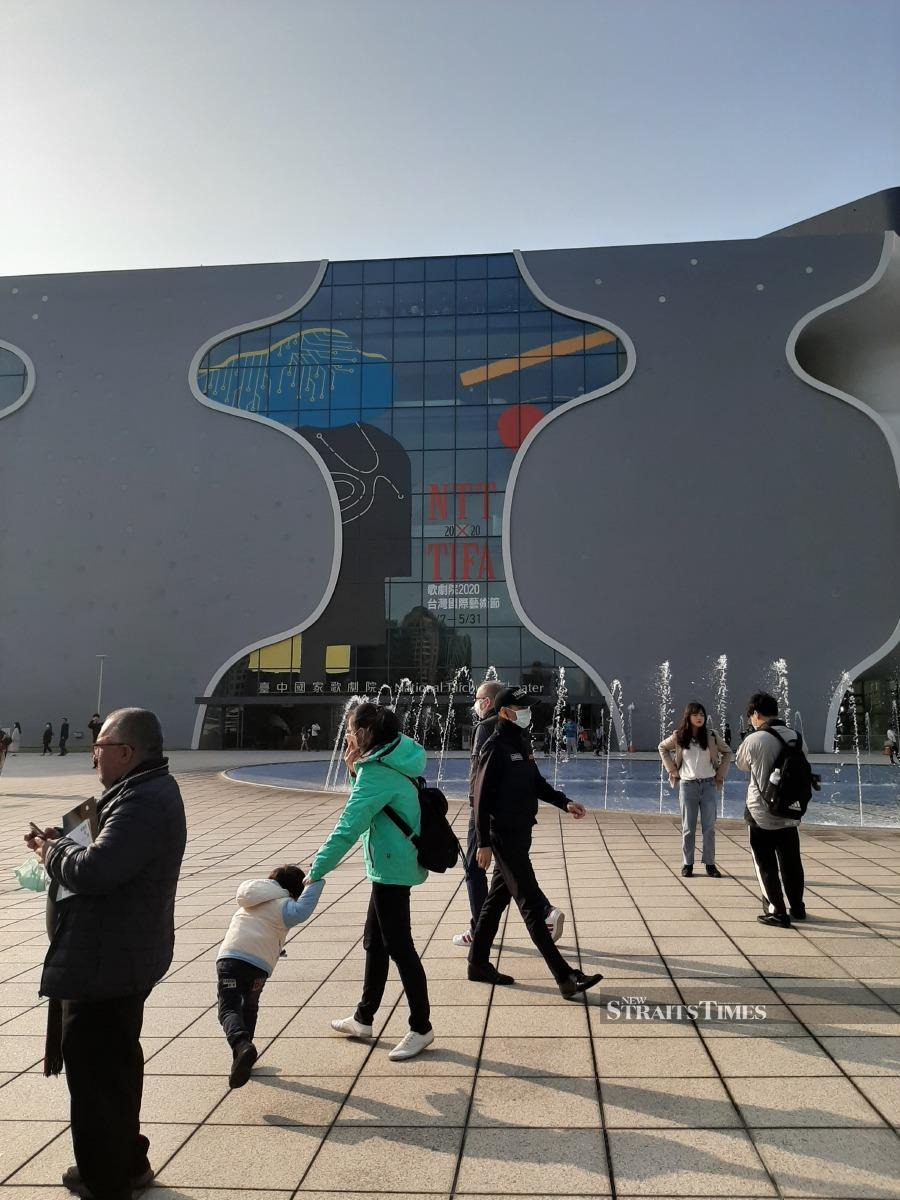 National Taichung Theatre offers space for the public to enjoy arts or simply take a breather from the hectic city life