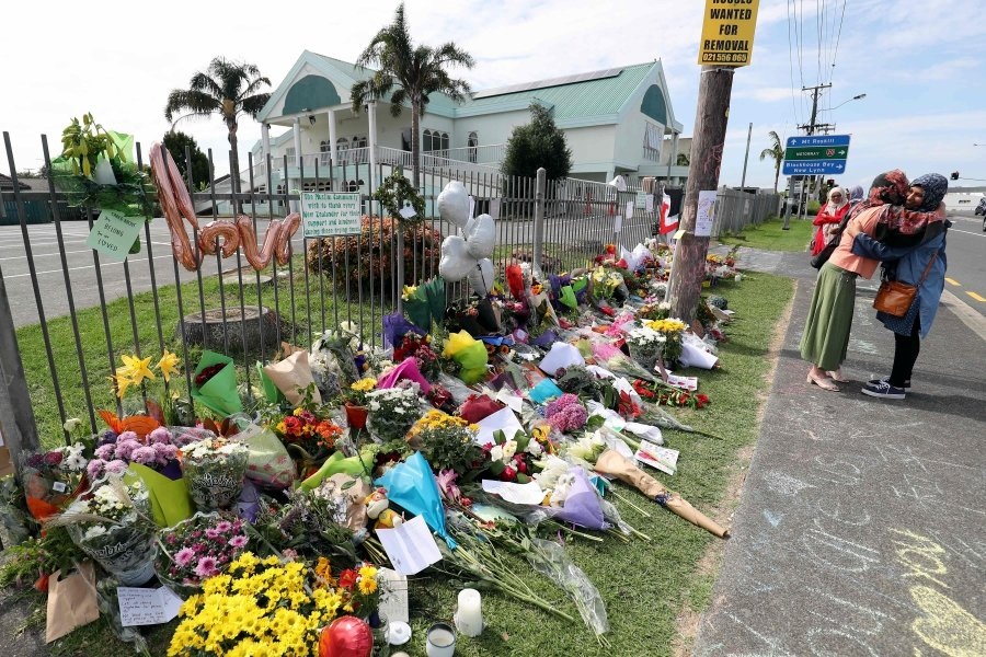 New Zealand Shootings Picture: New Zealand Mosque Shootings Toll Rises To 50, Families