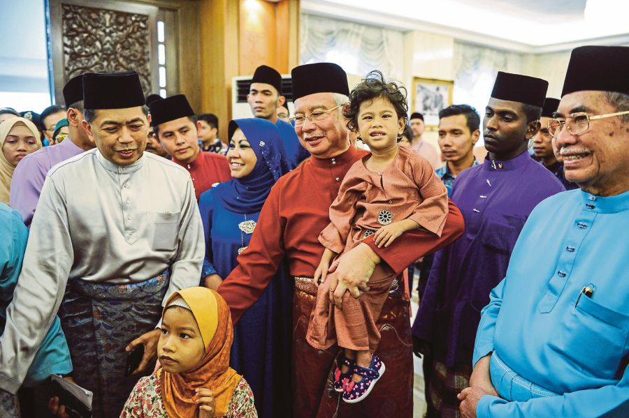 Image result for Najib's Hari Raya 2018 Open House