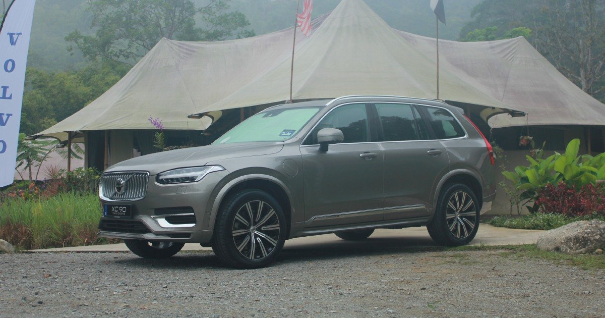 Volvo XC90 updated with new feel and a safer ride