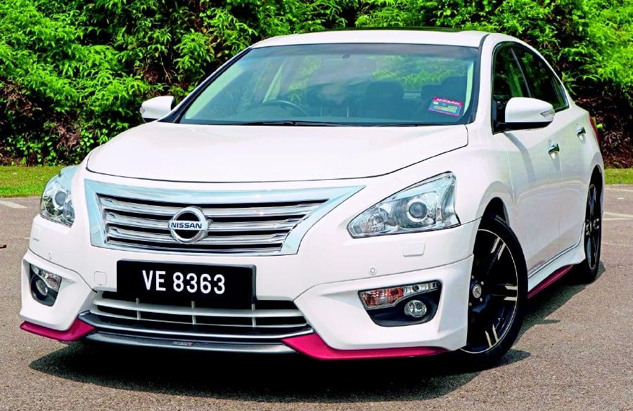 Nismo-enhanced Teana | New Straits Times | Malaysia General Business