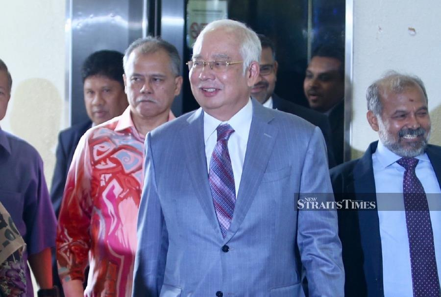 Police have not ruled out the possibility of calling former prime minister, Datuk Seri Najib Razak, to assist in investigations following his alleged defamatory statement against Teluk Intan member of parliament Nga Kor Ming, on his Facebook page. - NSTP/MOHD KHAIRUL HELMY MOHD DIN