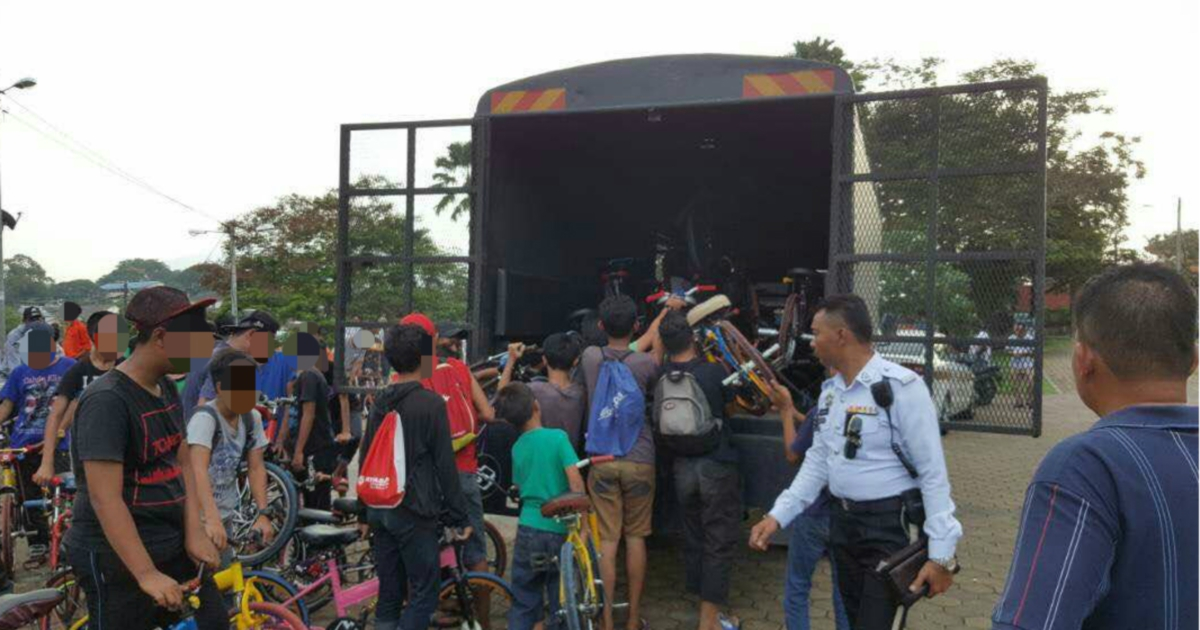 They're back: 54 children, teens on 'mosquito bikes' nabbed in Johor