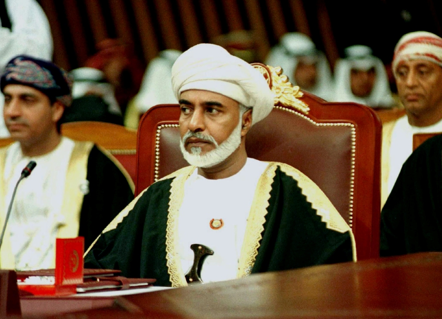 Sultan Qaboos of Oman dies at 79: state media