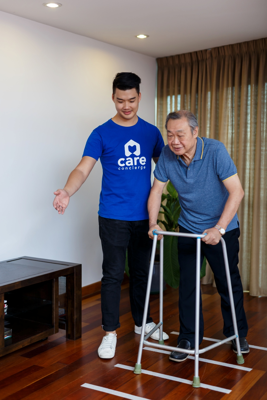 Care Concierge services include caregiving services for theelderly in residence of their choice.