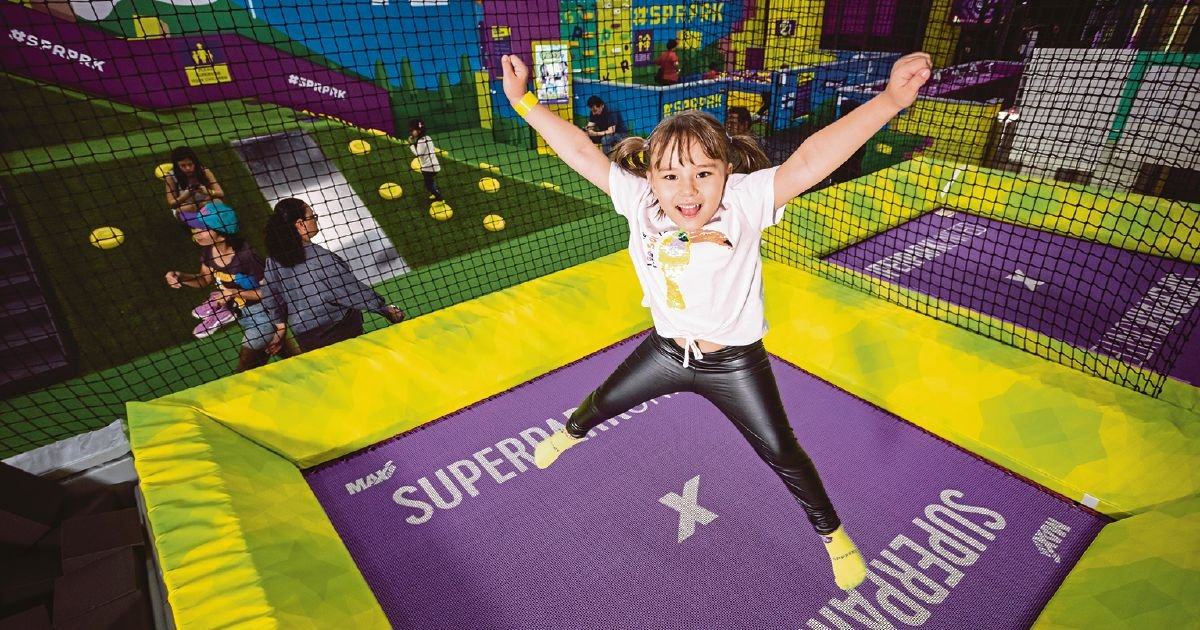 Enjoy the great indoors at SuperPark