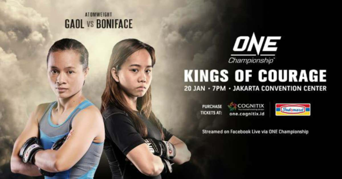 Audreylaura denied first One Championship win by Indonesia's Hertati