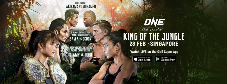 The Feb 28 One Championship event will go head behind closed door. - Pic source: Facebook/ONEChampionship