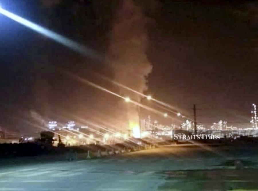 Pengerang explosion felt in Singapore