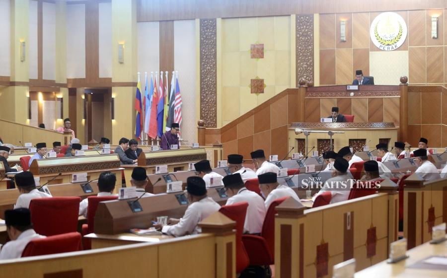 File Photo: The Perak State Assembly sitting scheduled for April 14 has been postponed. - NSTP/ABDULLAH YUSOF