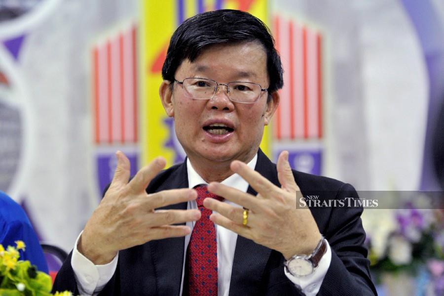 The Penang government has assured that the well-being of fishermen in the southern tip of the island will not be neglected when the Penang South Reclamation (PSR) mega-project is implemented. -- STR/SHAHNAZ FAZLIE SHAHRIZAL