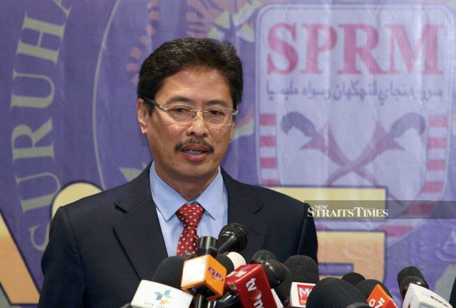 MACC deputy commissioner (Operations) Datuk Seri Azam Baki reminded members of parliament not to offer or receive bribes in any form in their bid to secure positions. -NSTP/AHMAD IRHAM MOHD NOOR.