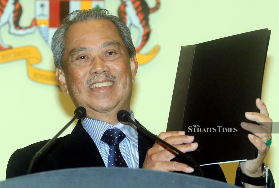 Tan Sri Muhyiddin's cabinet mystery may now be no more, but his detractors will continue to be unhappy. To be fair to the prime minister, he has kept to his word to have a clean cabinet. - NSTP/MOHD FADLI HAMZAH