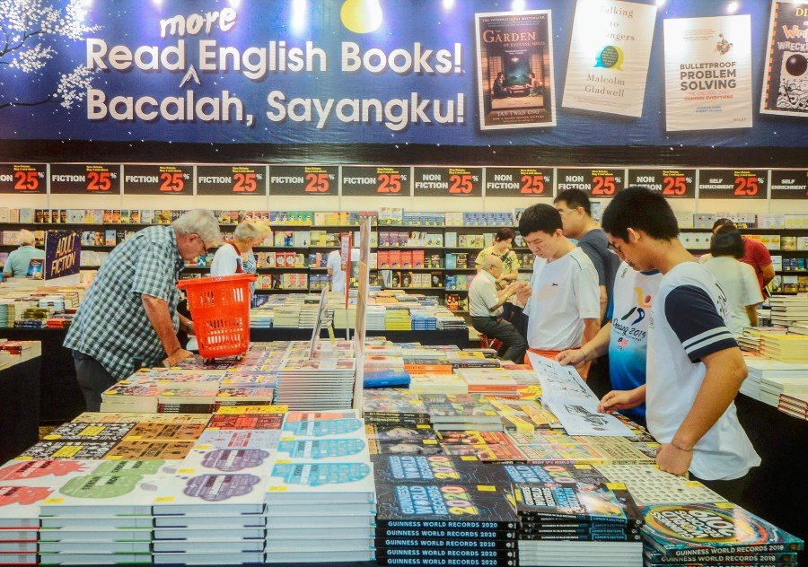 """""""Book authors and publications can take this opportunity to promote their titles throughout the (year-long) campaign,"""" Fahmi added. STR/SHAHNAZ FAZLIE SHAHRIZAL"""