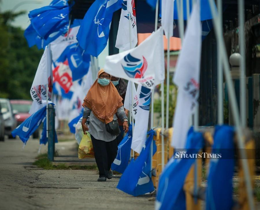 The 16th Sabah election is shaping up into a challenging contest despite the new norms brought about by the Covid-19 pandemic.  - NSTP/ASWADI ALIAS.