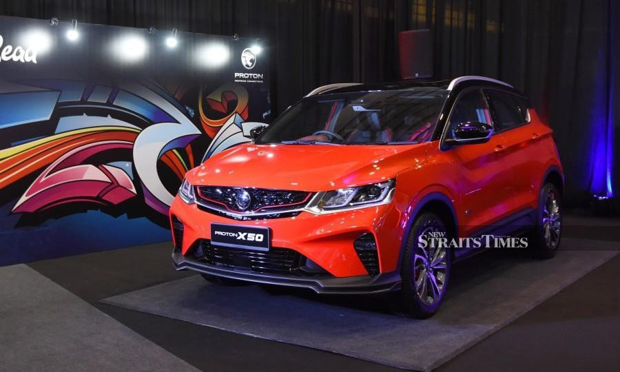 Proton X50 officially unveiled, available for booking