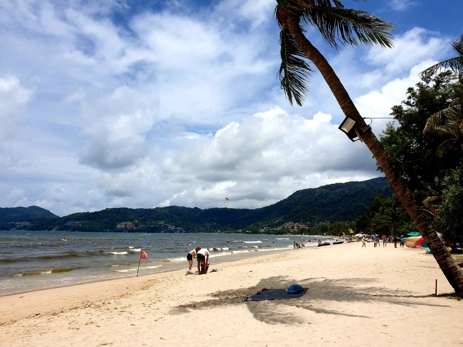 Patong Beach is located right outside the resort