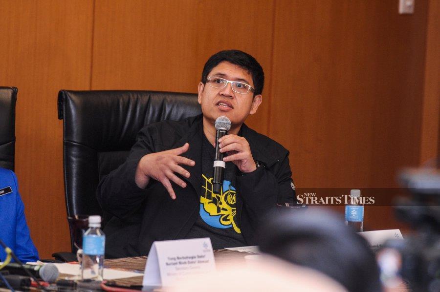MDEC digital creative content vice president Hasnul Hadi Samsudin.