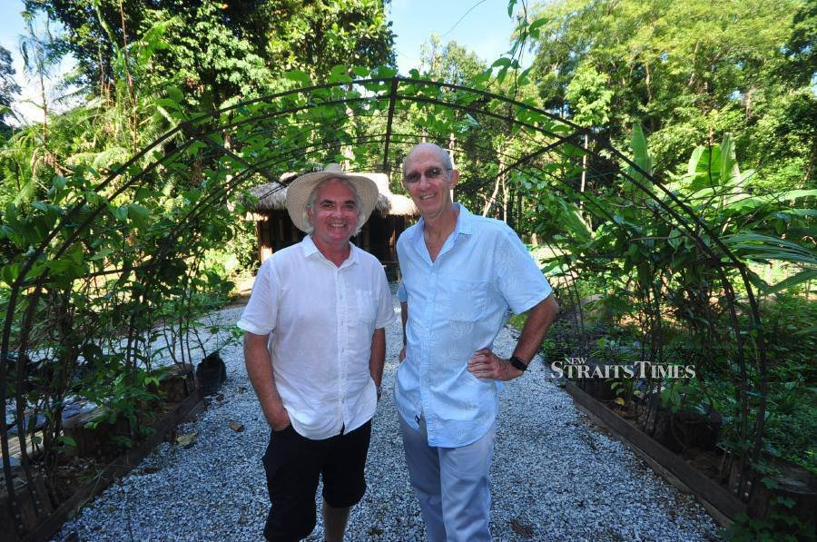 Permaculture experts at The Datai.