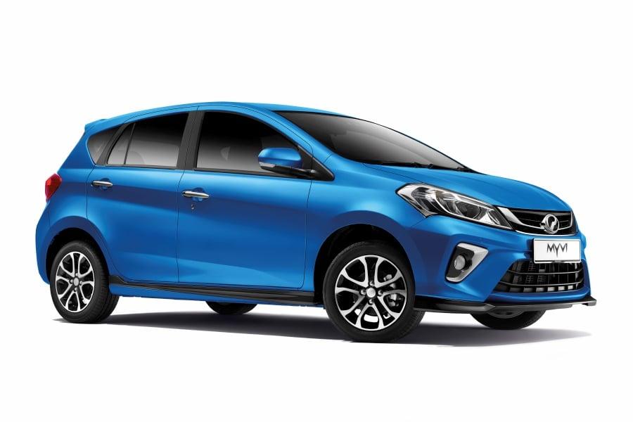 2020 Perodua Myvi Gains Asa 2 0 And New Electric Blue Paint