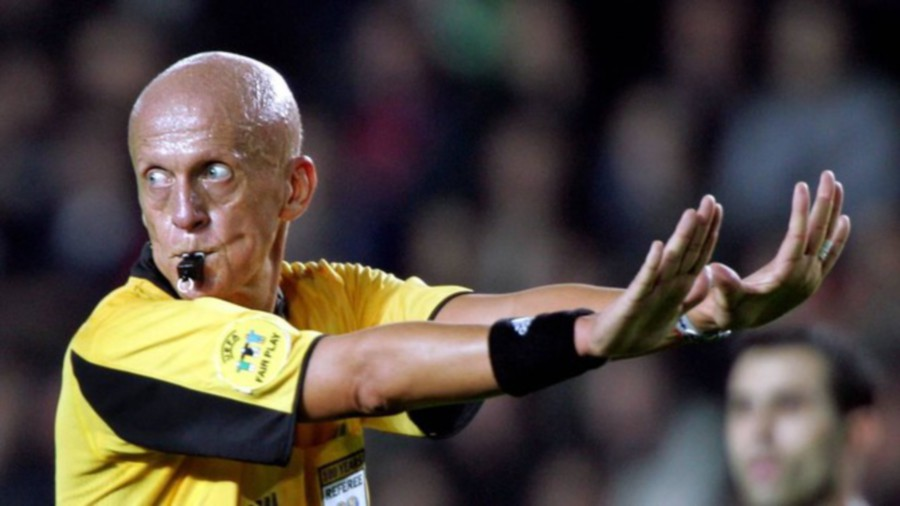 collina steps down as uefa s refereeing boss new straits times