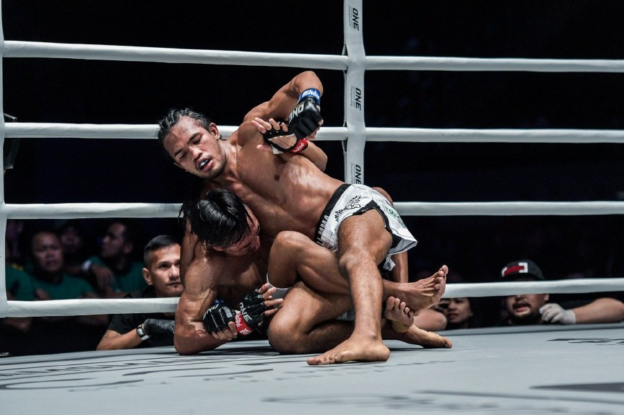 """The """"Jungle Cat"""" unleashed.-Pic courtesy of ONE Championship"""