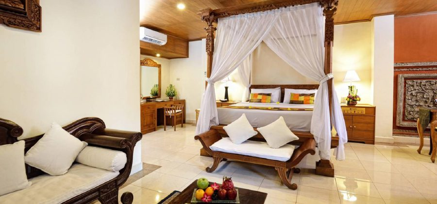 The presidential suite at Wina Holiday Villa Kuta Bali in Indonesia. (Photo source from holidayvillahotels.com)