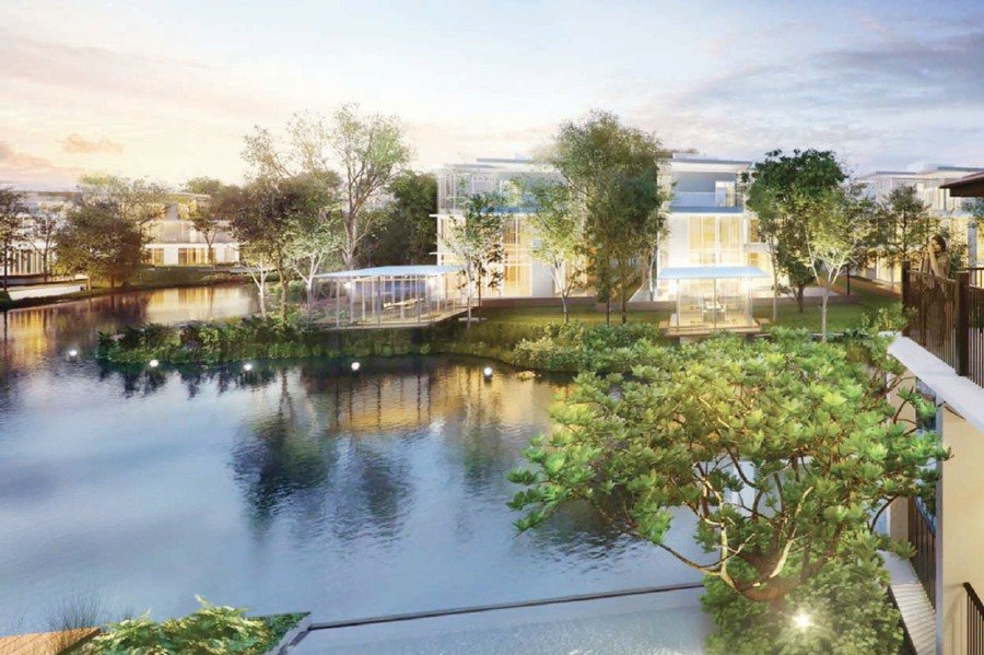The Glades, one of many housing projects by Sime Darby Property