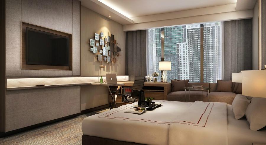 The new rooms at JW Marriott Kuala Lumpur following the asset enhancement.