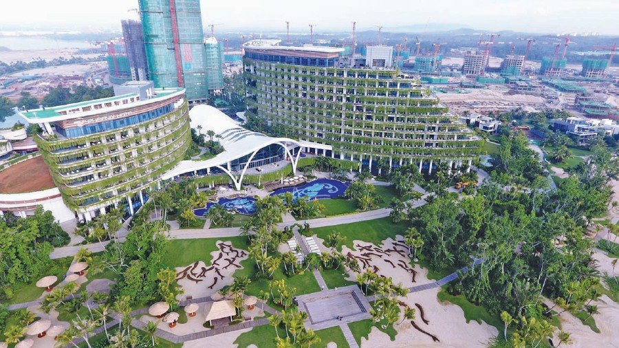 Forest city model for other cities new straits times malaysia forest city is not just a condominium development but also a full fledged mixed use city where people will work in sectors like education healthcare publicscrutiny Gallery