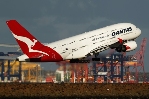 Qantas' worse-than-expected results were exacerbated by one-off restructuring and redundancy payouts hammering the bottom line. Bloomberg pic
