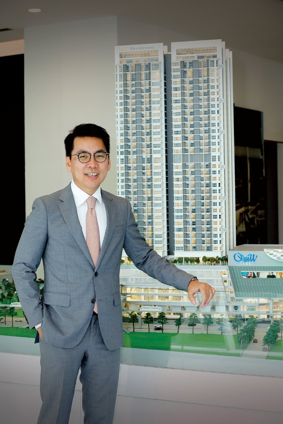 The Quill group's newly appointed group chief executive officer Koong Wai Seng. Photo credit CHTNetwork