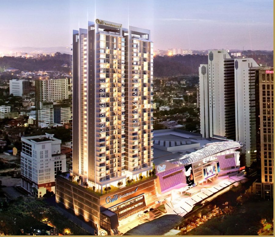 An artist impression of Quill Residences.